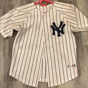 Majestic Youth Jersey Yankees